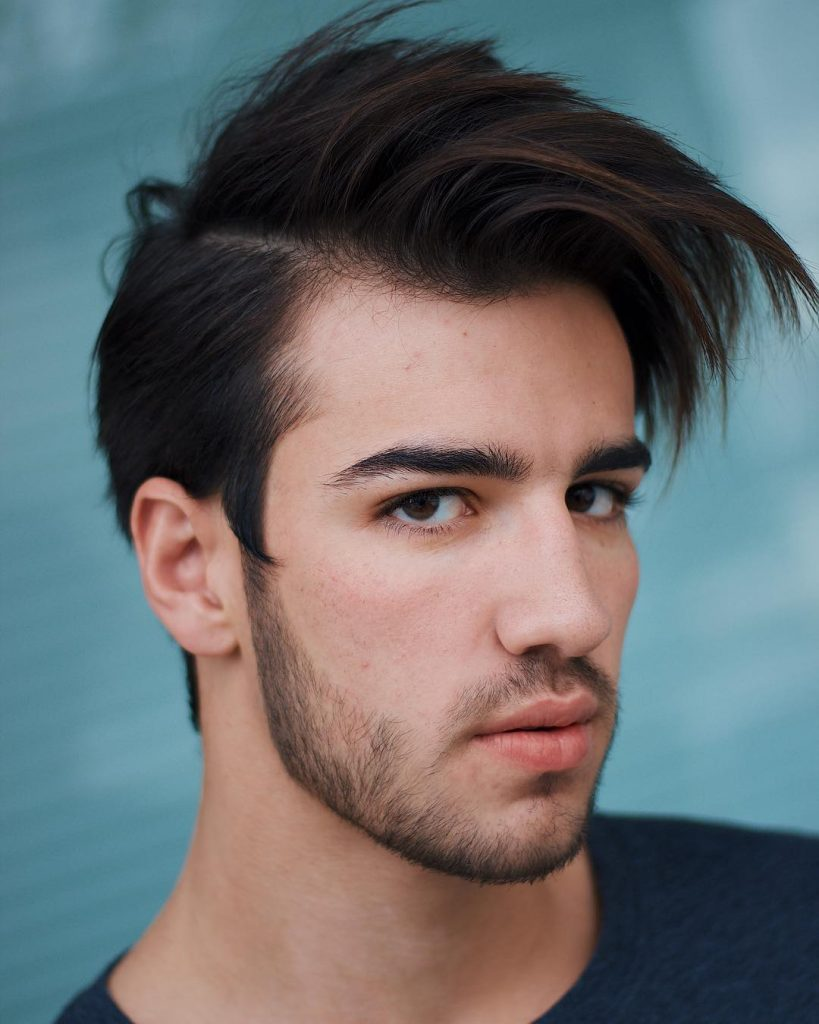 How to style men's medium haircuts