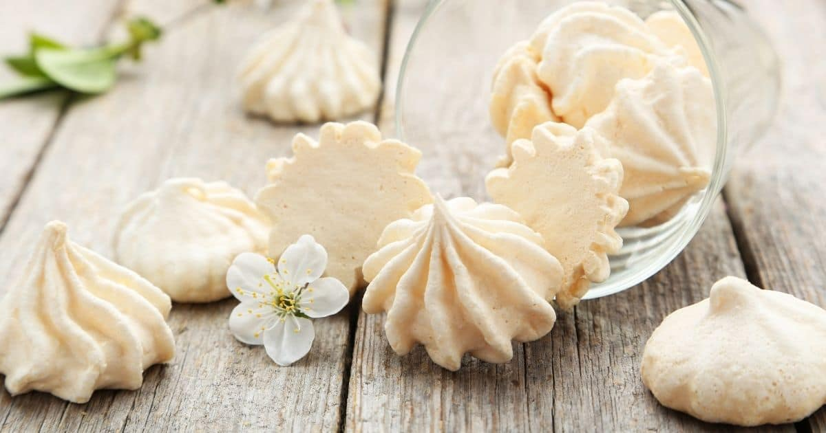 Make these crisp tender meringue cookies with out cream of tartar