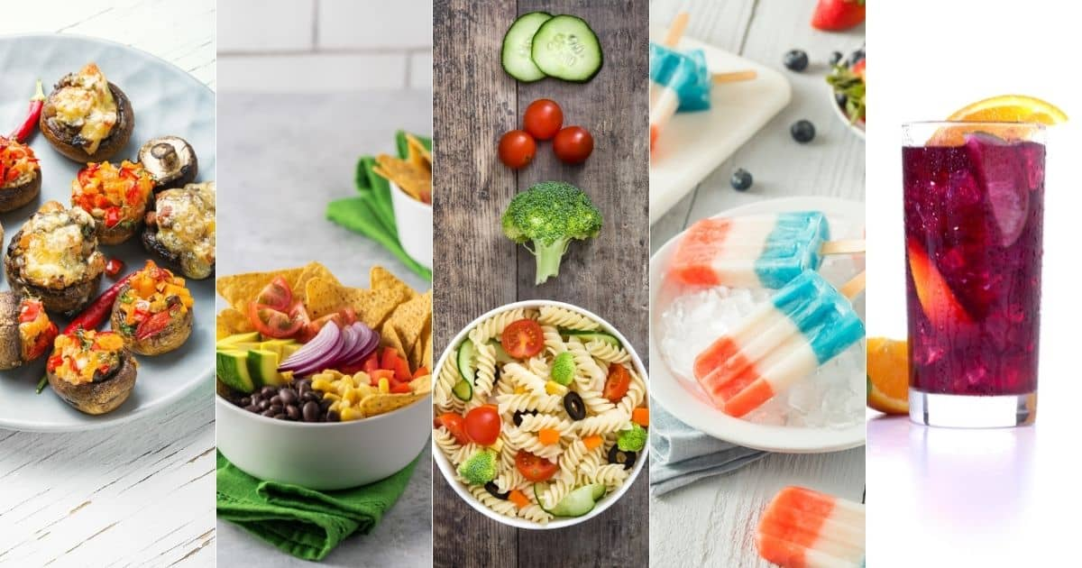22 vegan 4th of July recipes: From appetizers to mains!
