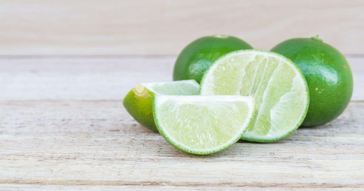 What are limes? Effectively, they don't seem to be lemons.