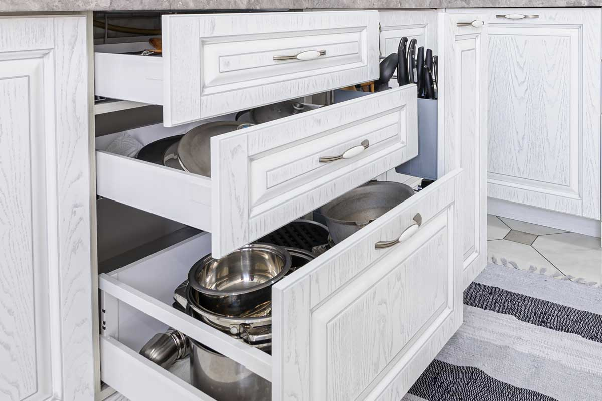 Kitchen Drawers Open By Themselves - What To Do?