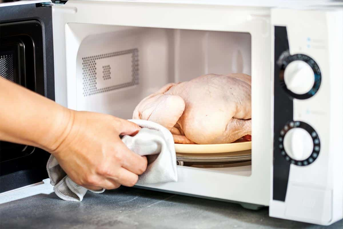 How To Defrost Rooster In The Microwave