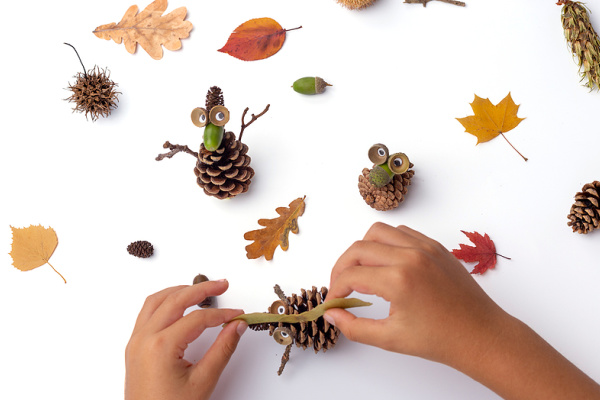 23 Pinecone Crafts and Experiments for All Ages and Levels